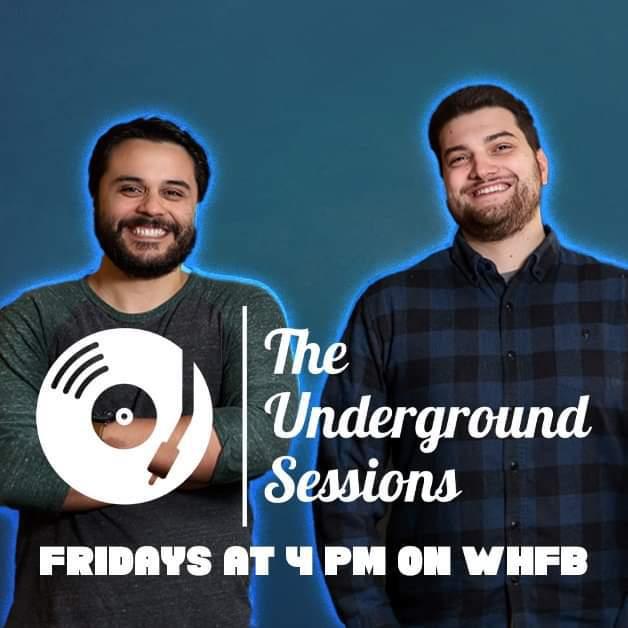 Underground Sessions Logo - Fridays at 4pm